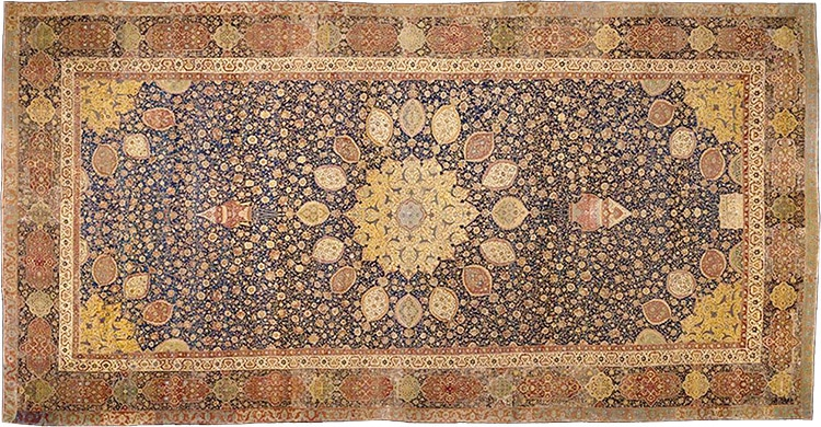 The Oldest Dated Carpet In The World - The Ardabil Carpet Nazmiyal
