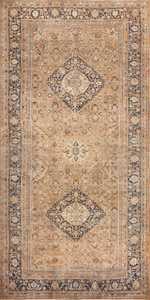 oversized antique khorassan persian rug 50664 Nazmiyal