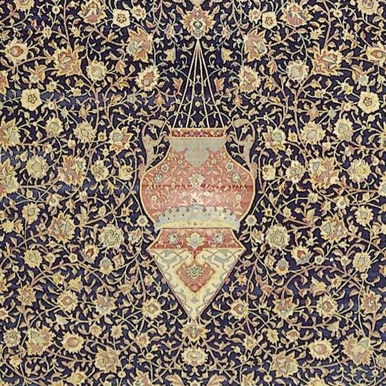 Hanging Pendant Lamp Design of The Ardabil Carpet Nazmiyal