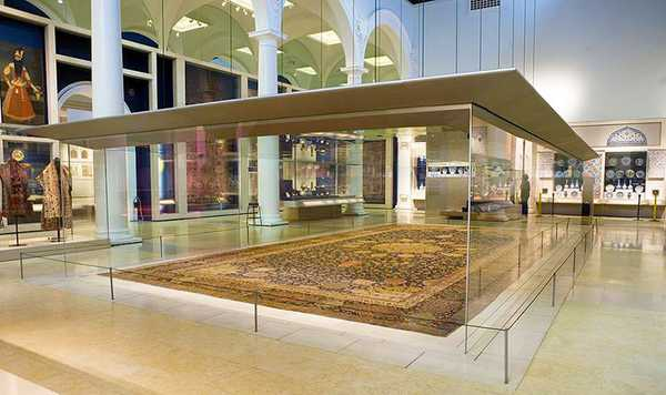 The Ardabil Carpet by Nazmiyal