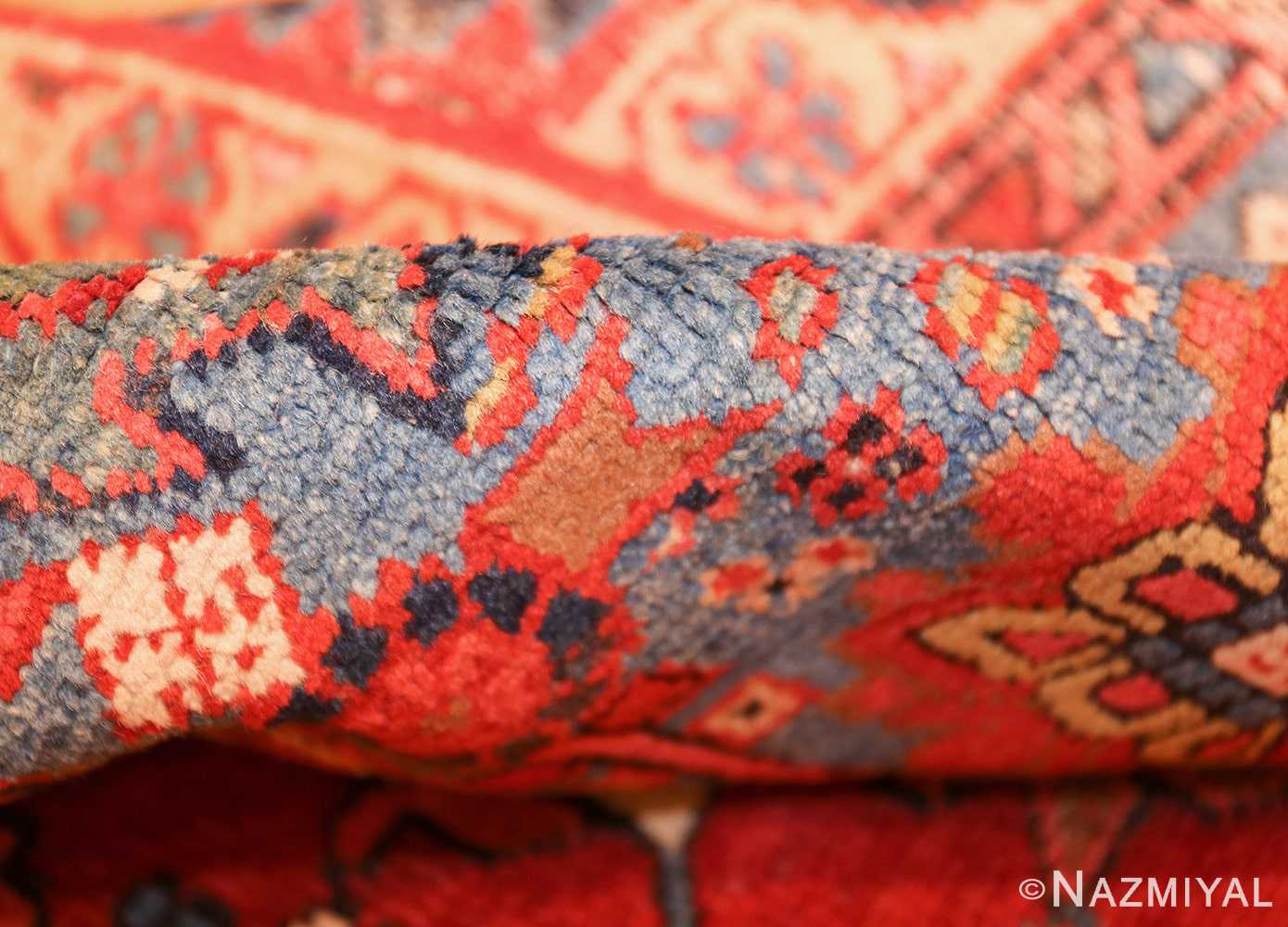 antique oriental room size persian heriz rug 49395 pile Nazmiyal