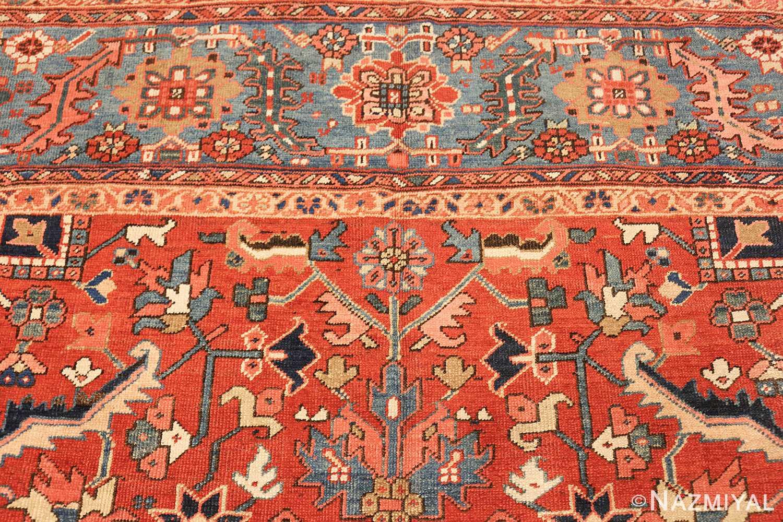 antique oriental room size persian heriz rug 49395 top Nazmiyal