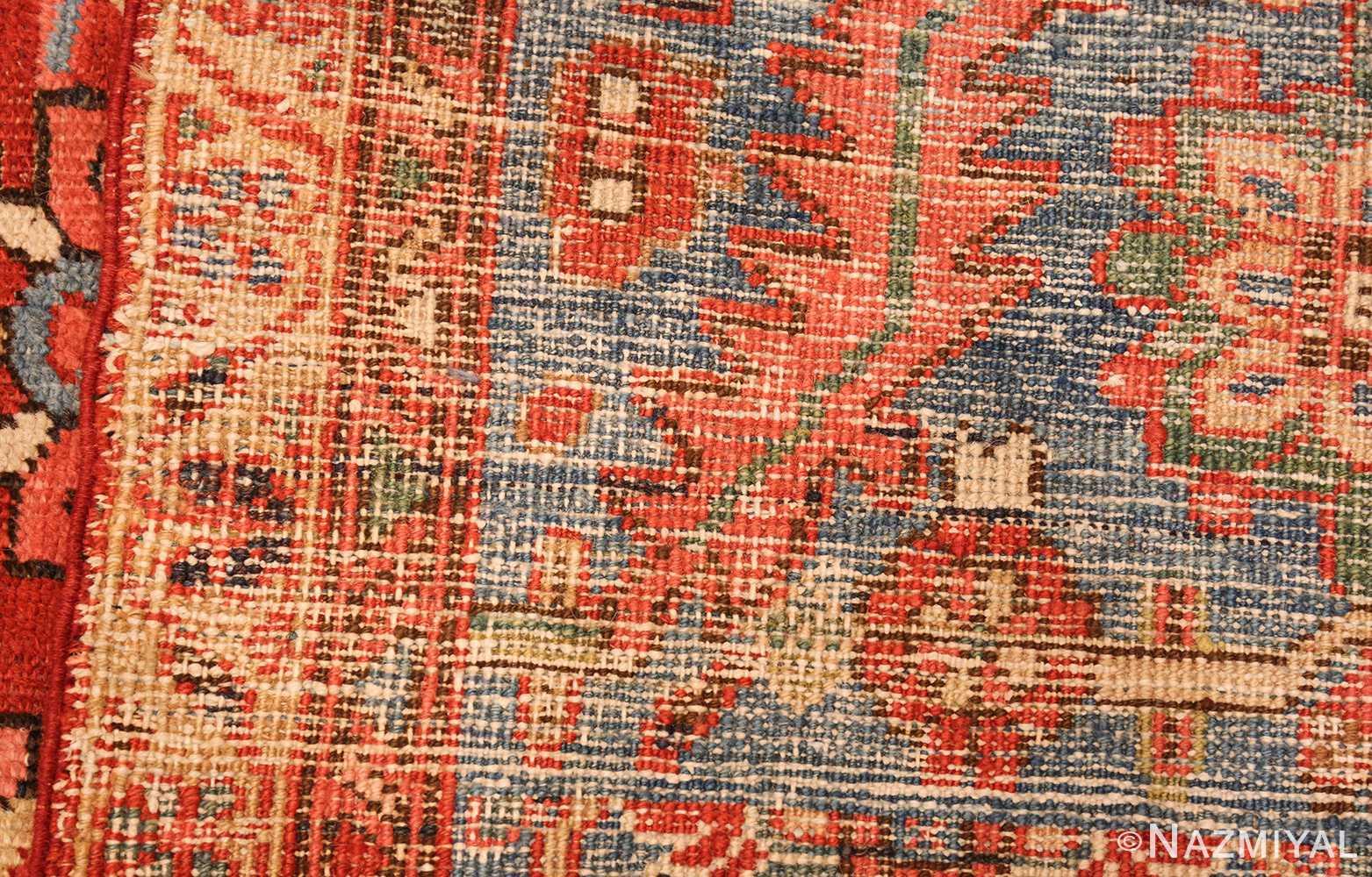 antique oriental room size persian heriz rug 49395 weave Namziyal