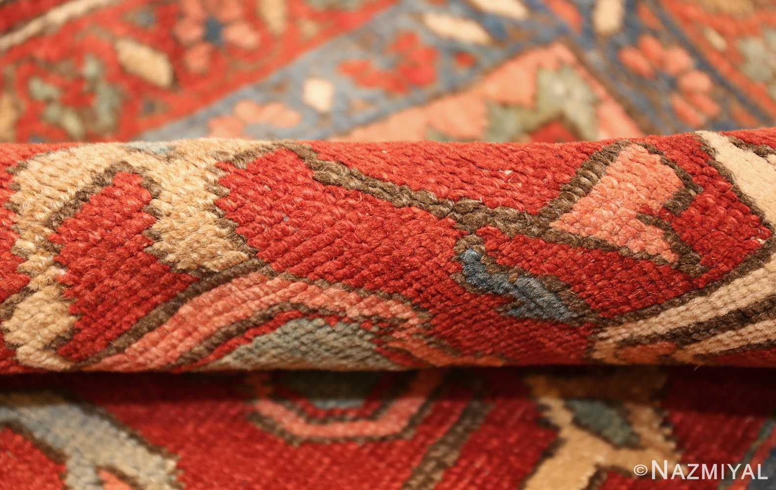 antique red background room size persian bakshaish rug 49393 pile Nazmiyal