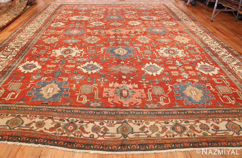 antique red background room size persian bakshaish rug 49393 whole Nazmiyal