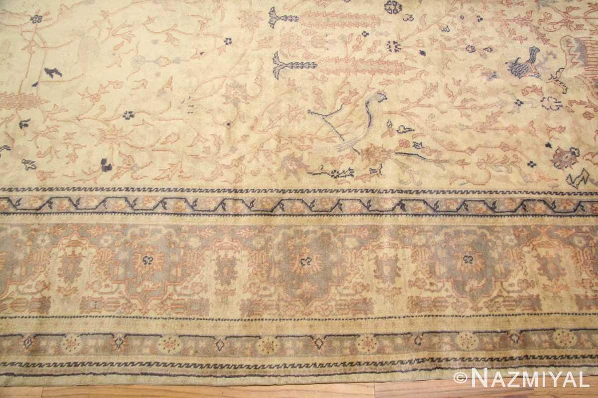 antique turkish sivas rug 49429 border Nazmiyal
