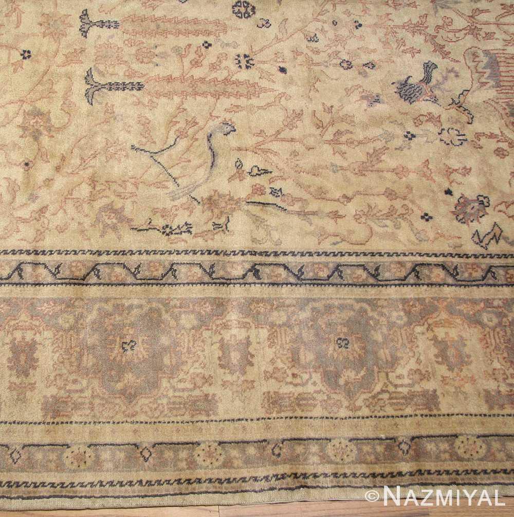 antique turkish sivas rug 49429 field Nazmiyal
