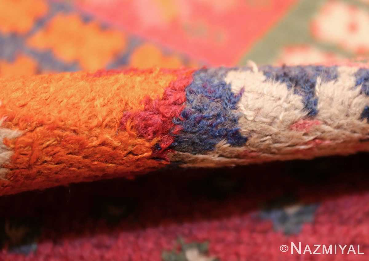 colorful vintage scandinavian rya rug by marianne richter 49438 pile Nazmiyal