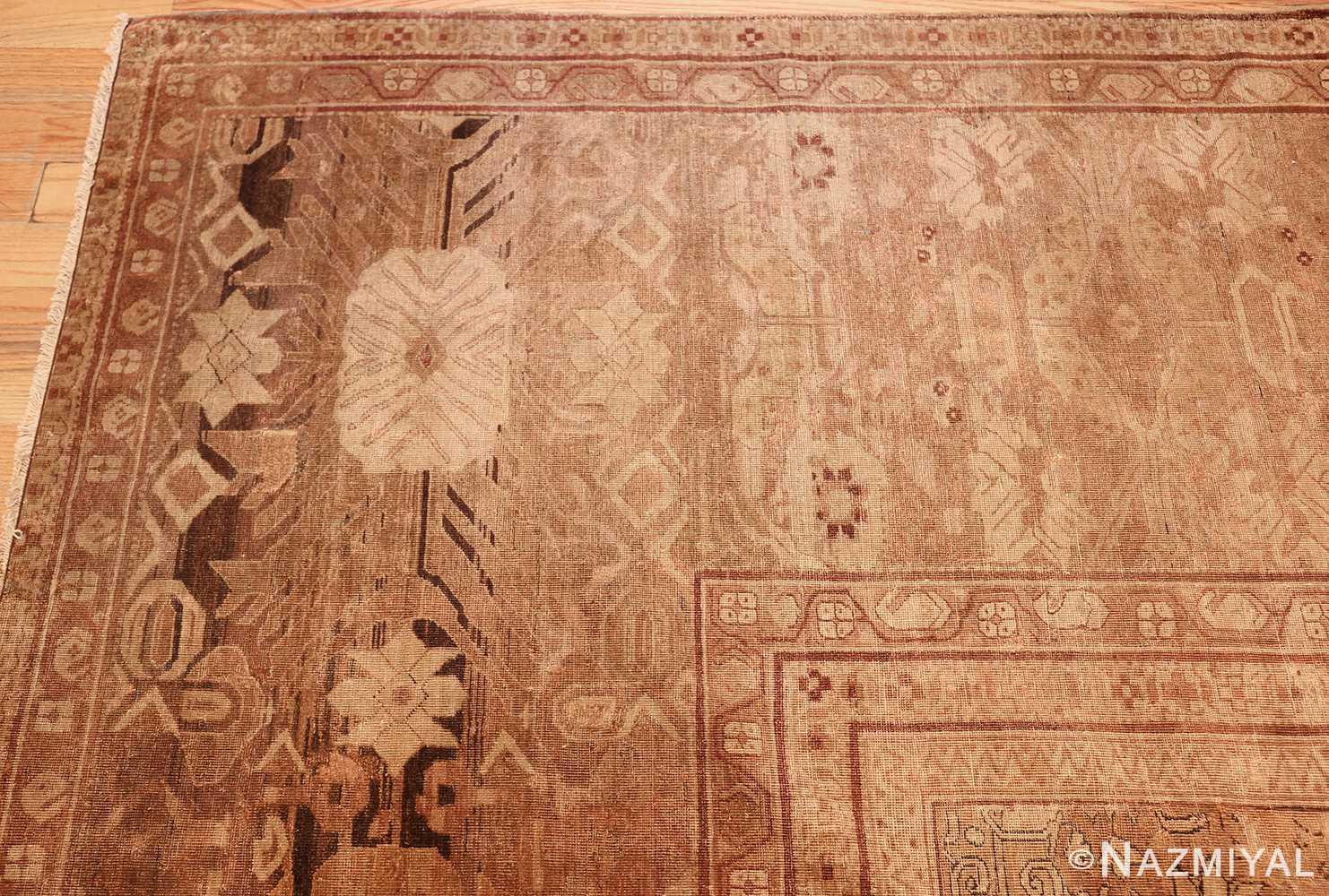 large antique amritsar indian rug 50721 border Nazmiyal