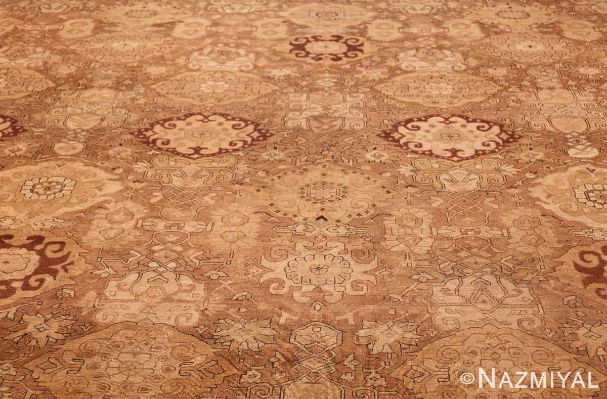 large antique amritsar indian rug 50721 field Nazmiyal
