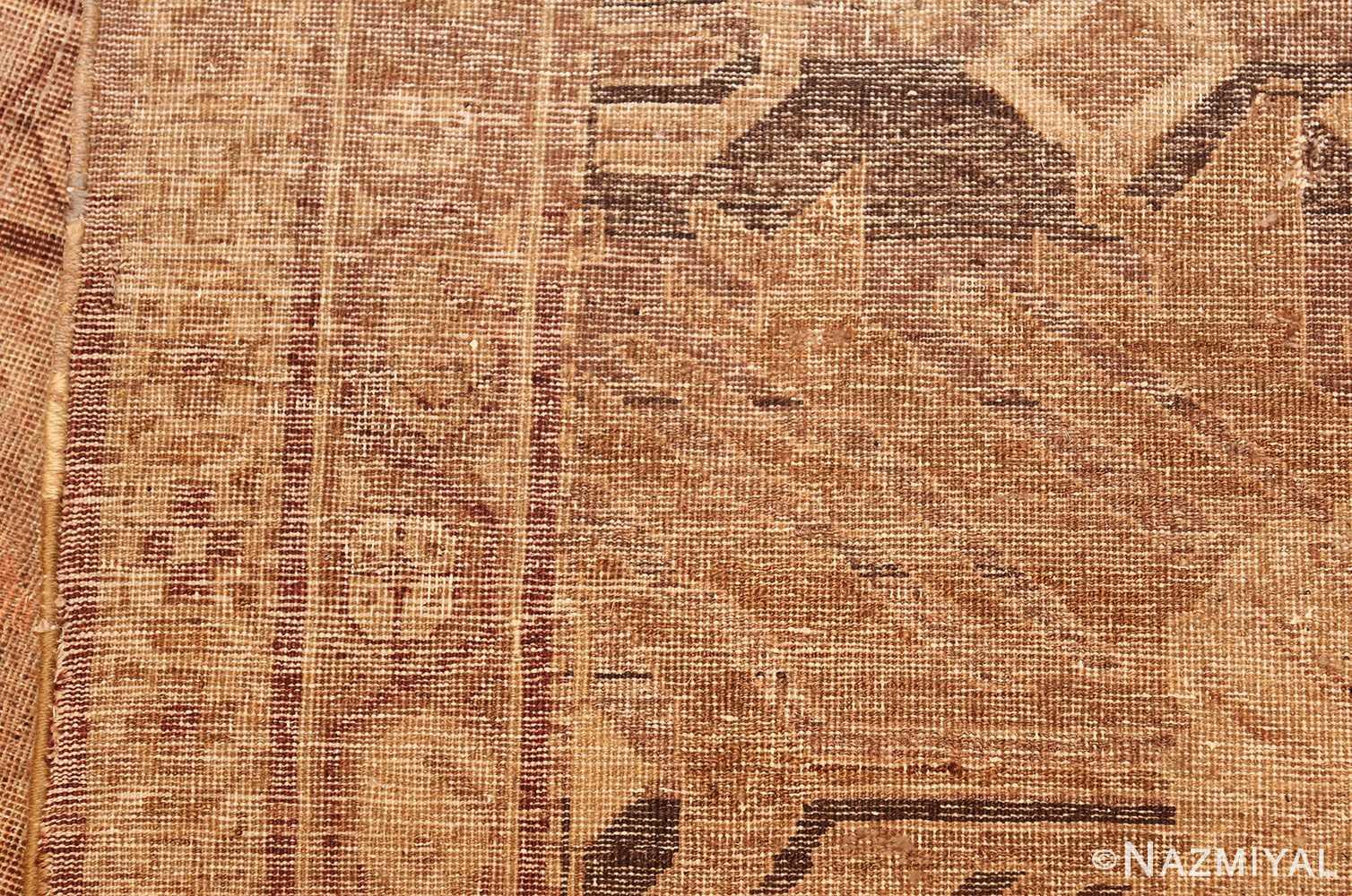 large antique amritsar indian rug 50721 weave Nazmiyal