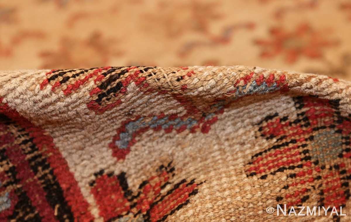 large shabby chic antique indian rug 49432 pile Nazmiyal