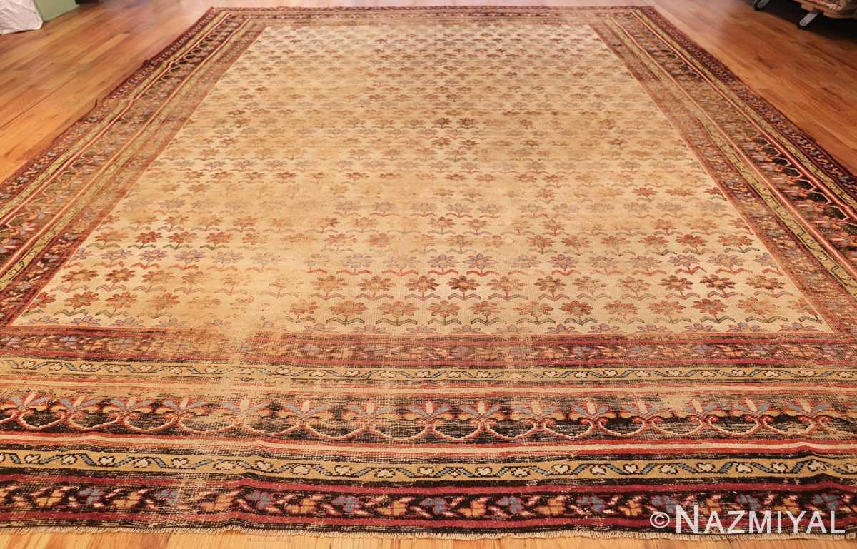 large shabby chic antique indian rug 49432 whole Nazmiyal