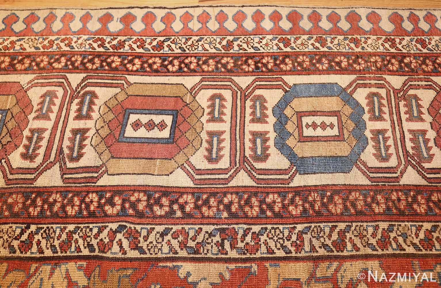 large size antique persian bakshaish rug 49394 border Nazmiyal