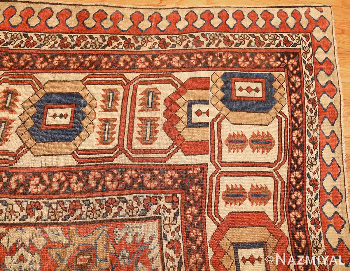 large size antique persian bakshaish rug 49394 corner Nazmiyal