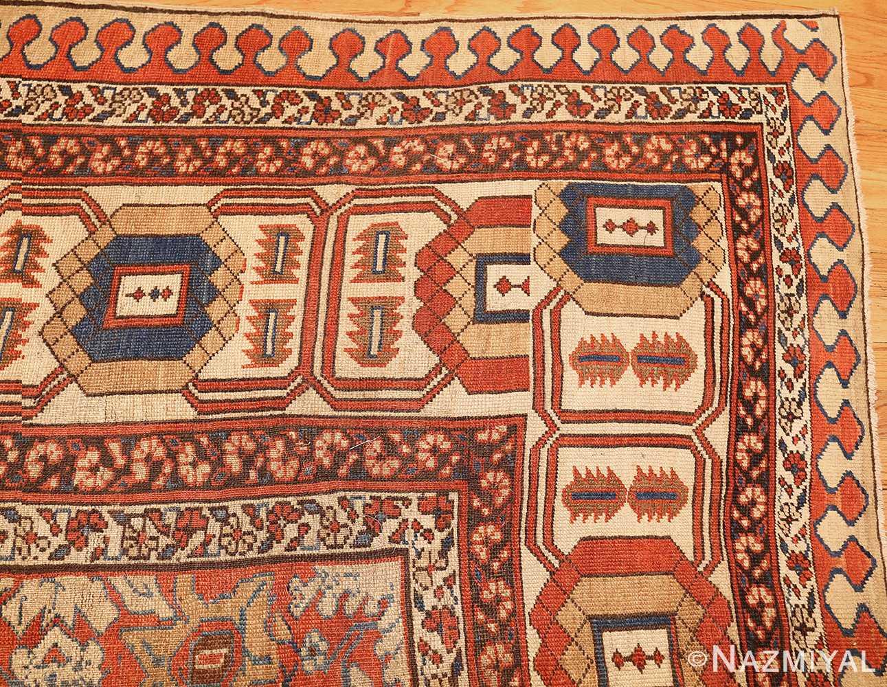 large size antique persian bakshaish rug 49394 corner Nazmiyal