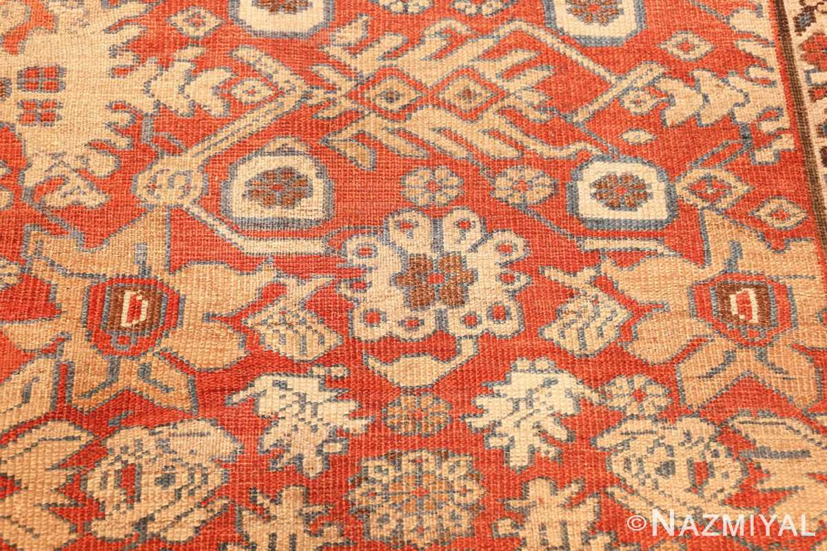 large size antique persian bakshaish rug 49394 flowers Nazmiyal