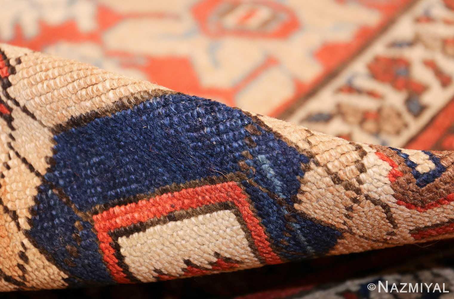 large size antique persian bakshaish rug 49394 pile Nazmiyal