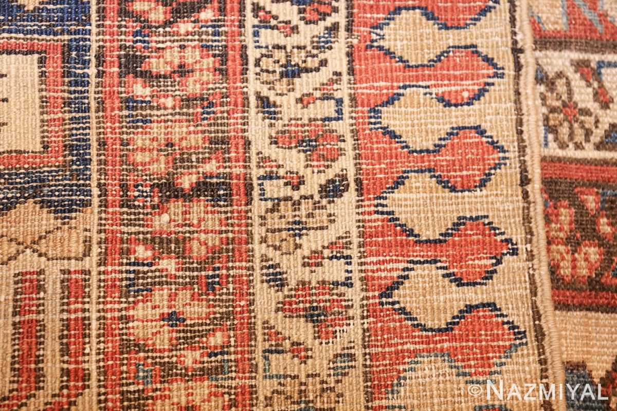 large size antique persian bakshaish rug 49394 weave Nazmiyal