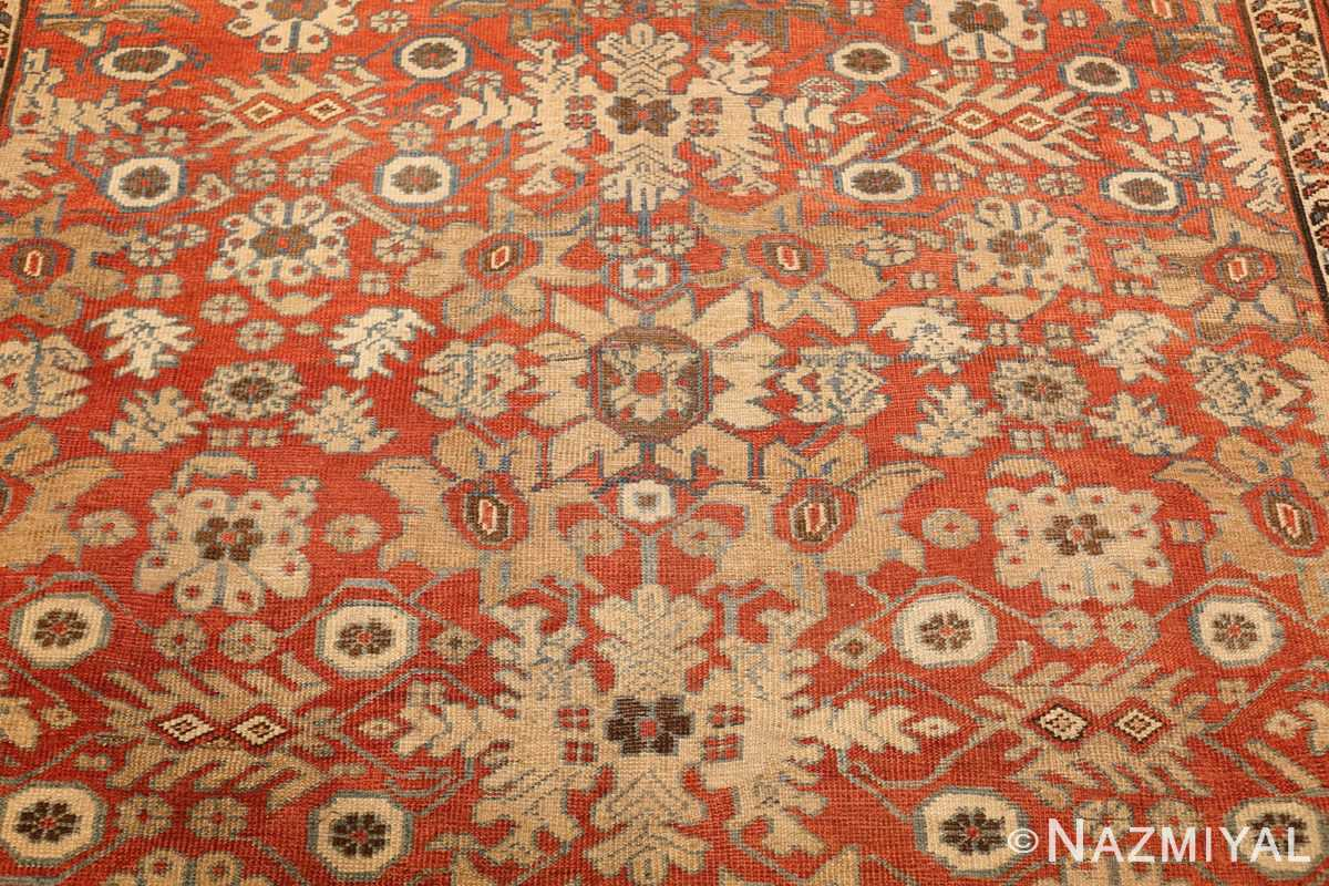 large size antique persian bakshaish rug 49394 yellow Nazmiyal