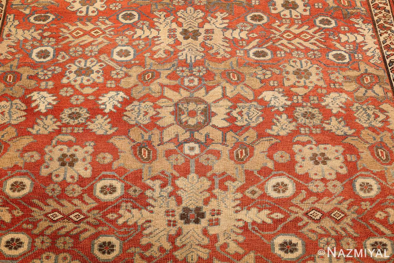 large size antique persian bakshaish rug 49394 yellow Nazmiyal
