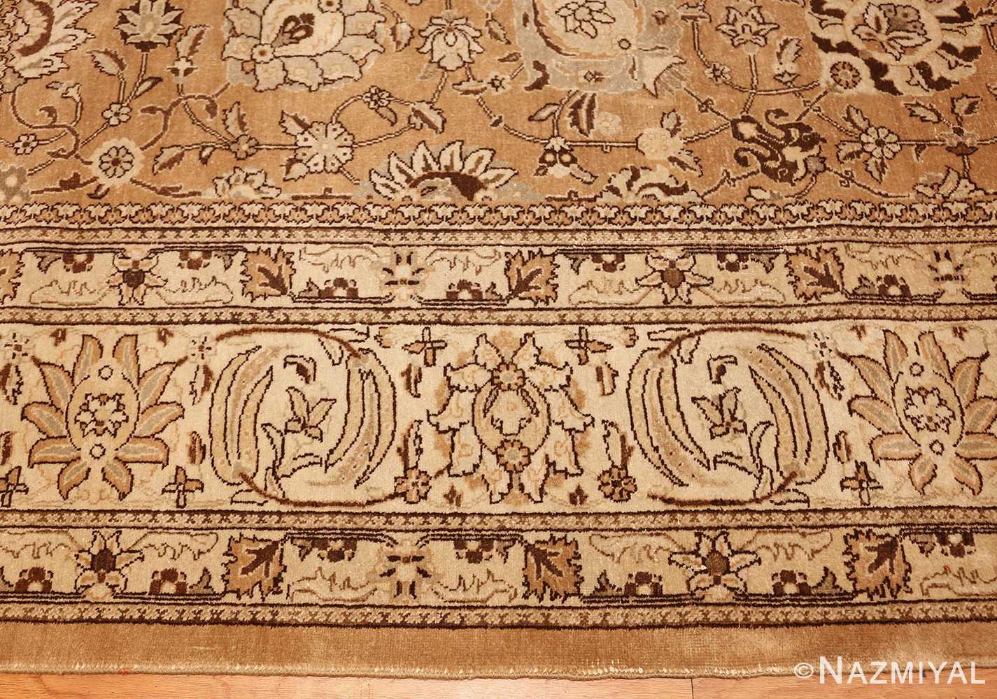 large vintage tabriz persian rug 43077 border Nazmiyal