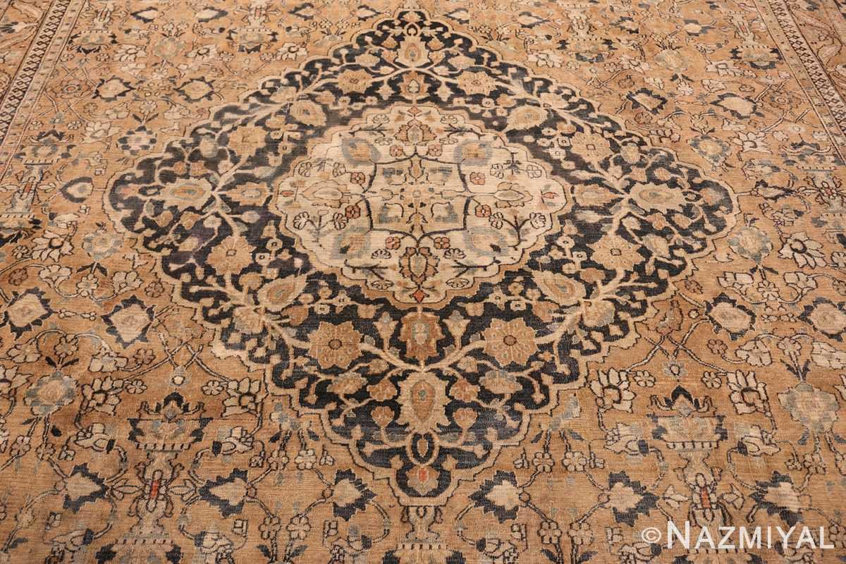 oversized antique khorassan persian rug 50664 blue Nazmiyal