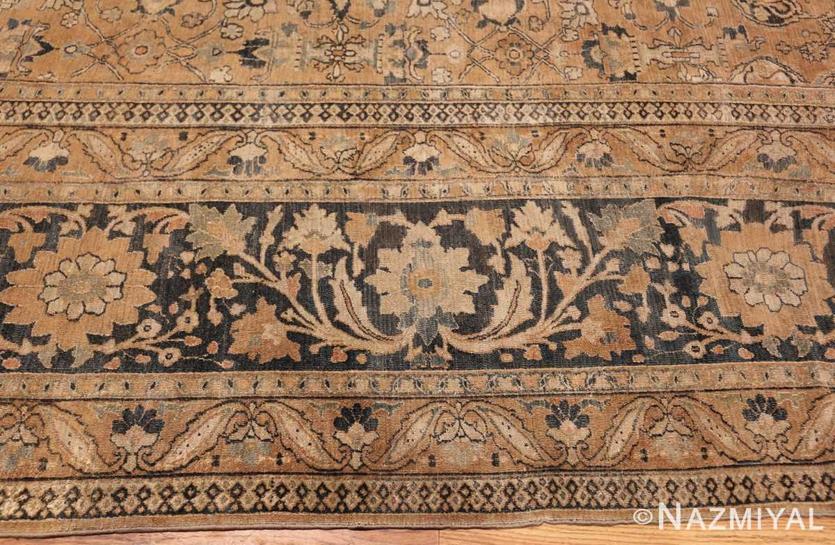 oversized antique khorassan persian rug 50664 border Nazmiyal