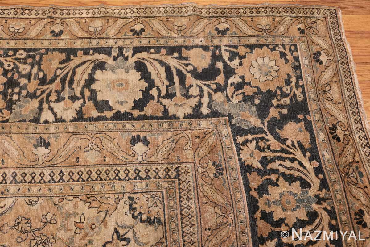 oversized antique khorassan persian rug 50664 corner Nazmiyal