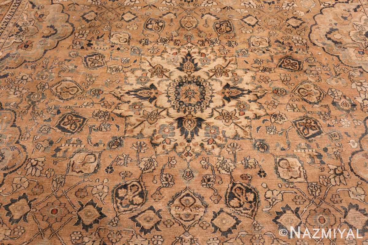 oversized antique khorassan persian rug 50664 medallion Nazmiyal