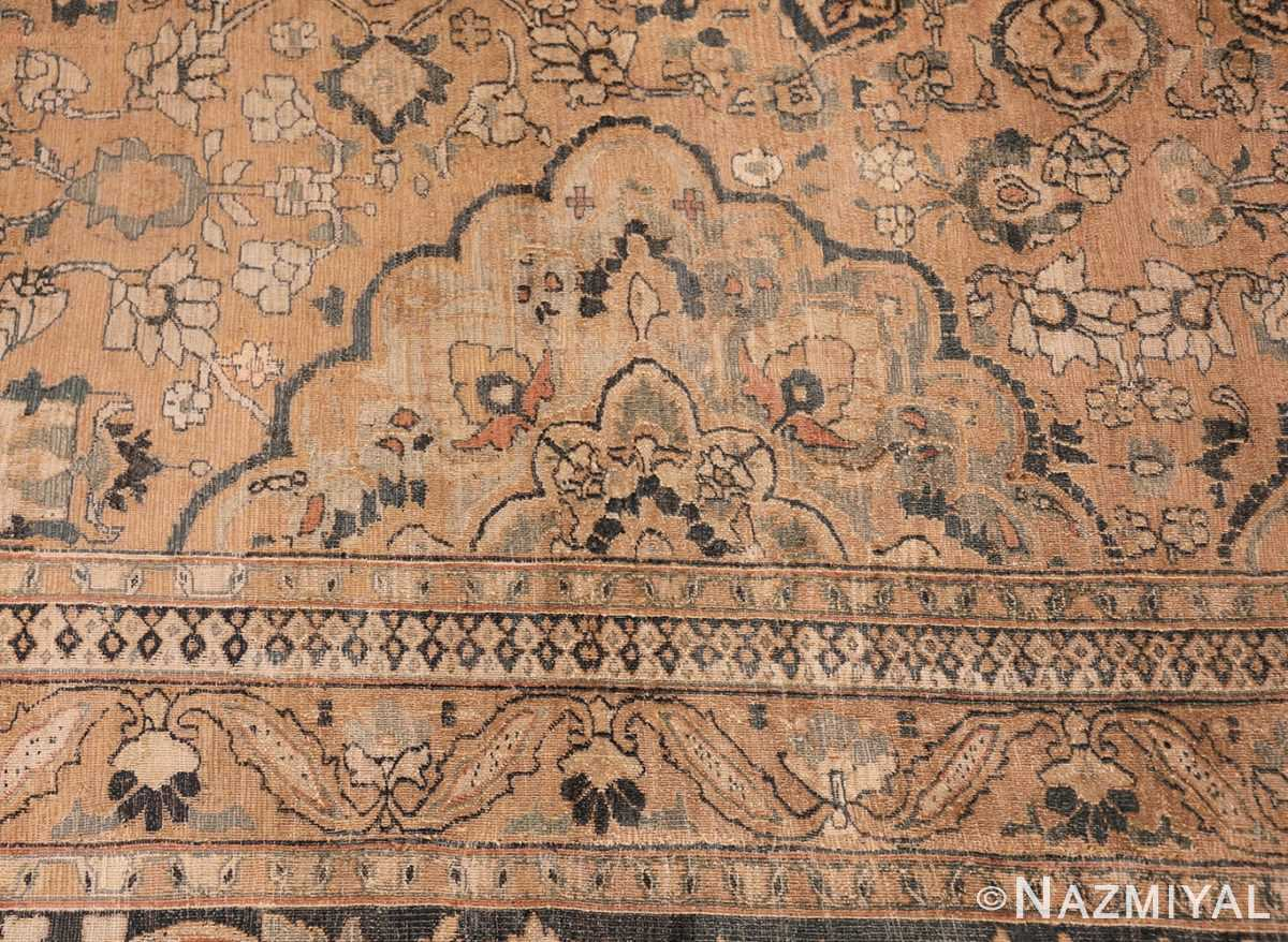 oversized antique khorassan persian rug 50664 side Nazmiyal