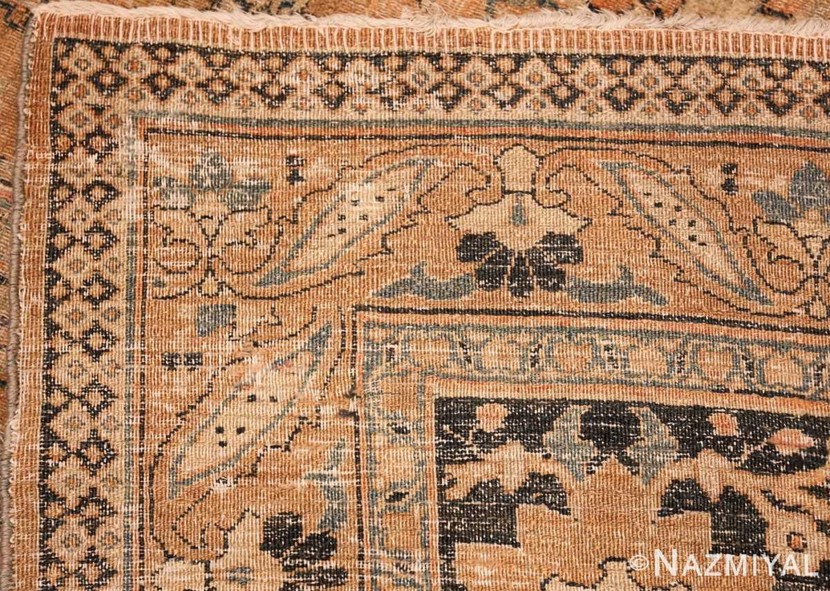 oversized antique khorassan persian rug 50664 weave Nazmiyal