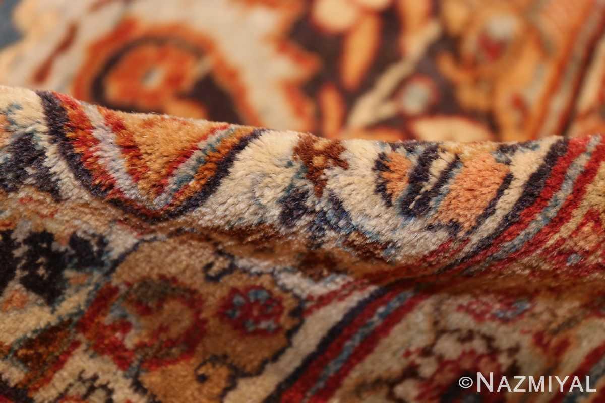 oversized navy background- tabriz persian rug 49375 pile Nazmiyal