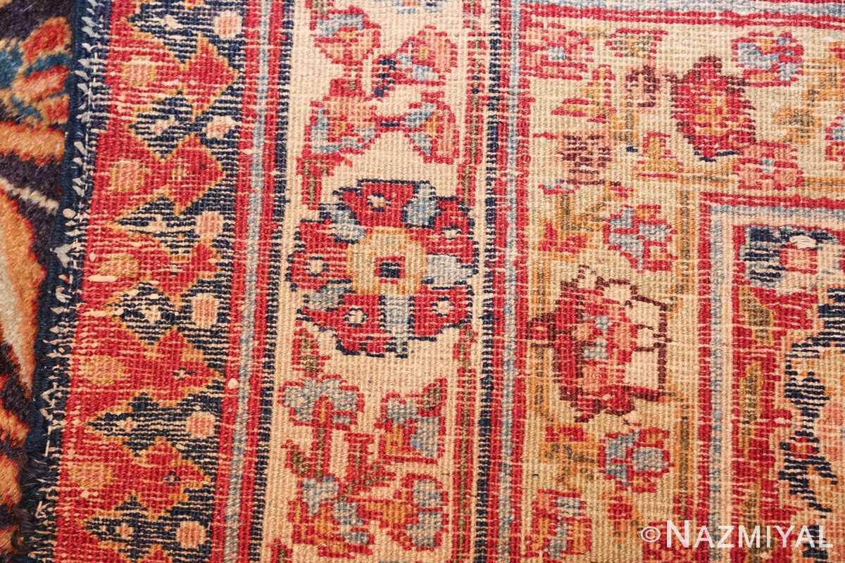 oversized navy background tabriz persian rug 49375 weave Nazmiyal