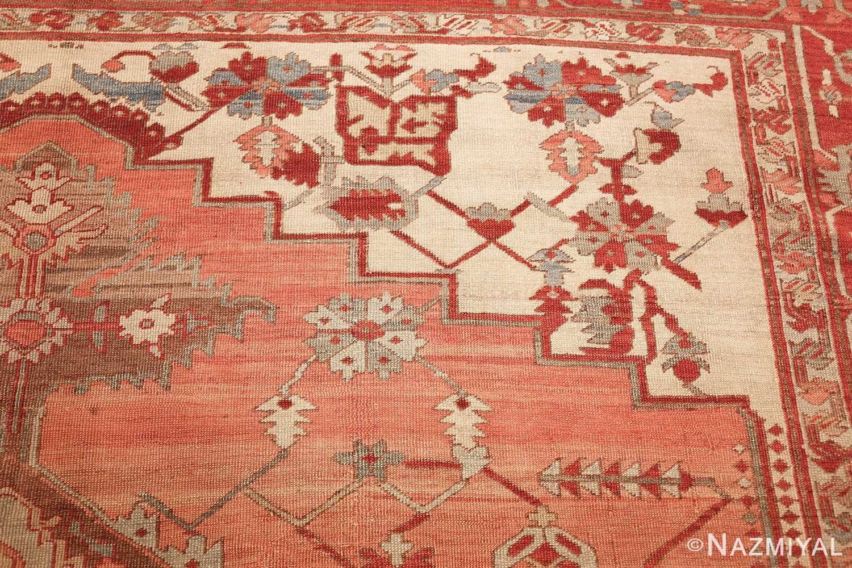 room size antique oriental persian serapi rug 49391 design Nazmiyal