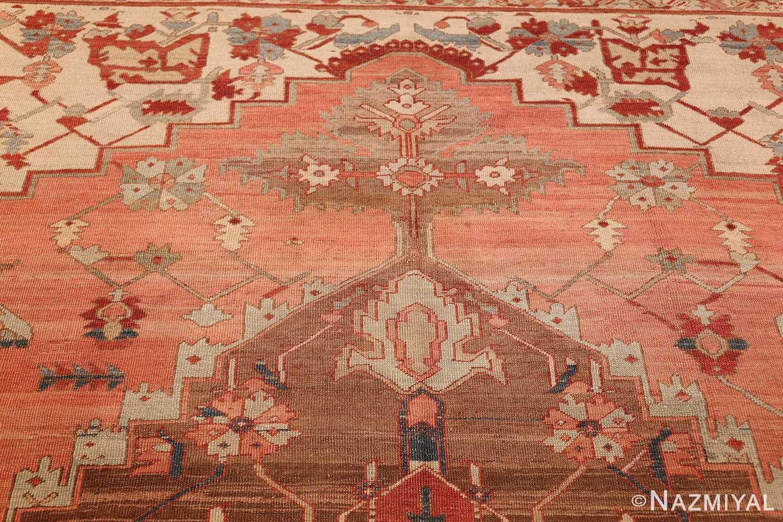 room size antique oriental persian serapi rug 49391 top Nazmiyal