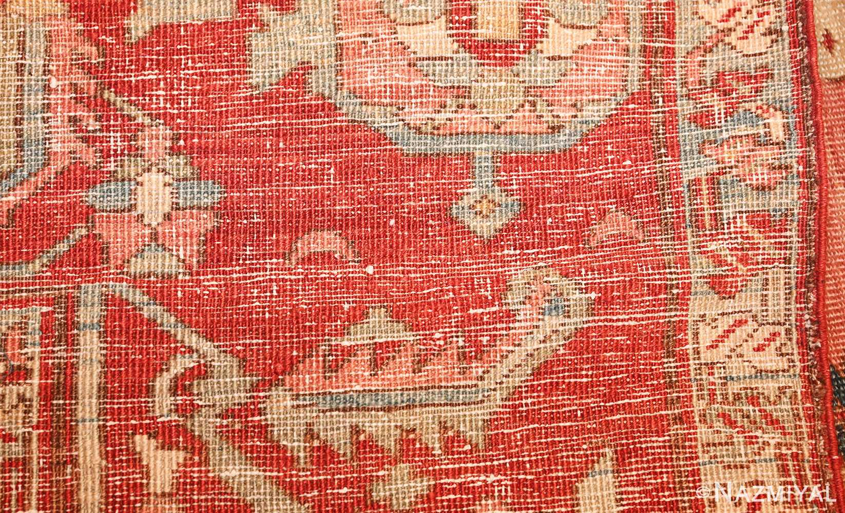 room size antique oriental persian serapi rug 49391 weave Nazmiyal