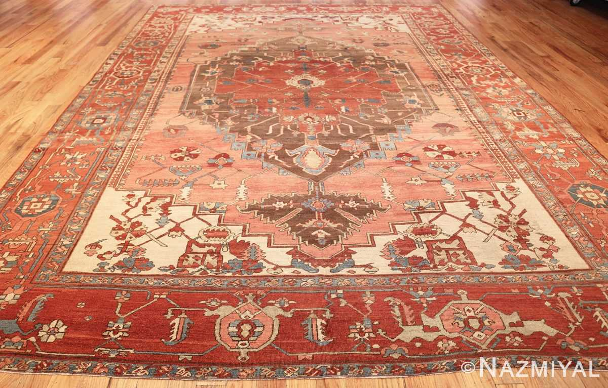 room size antique oriental persian serapi rug 49391 whole Nazmiyal