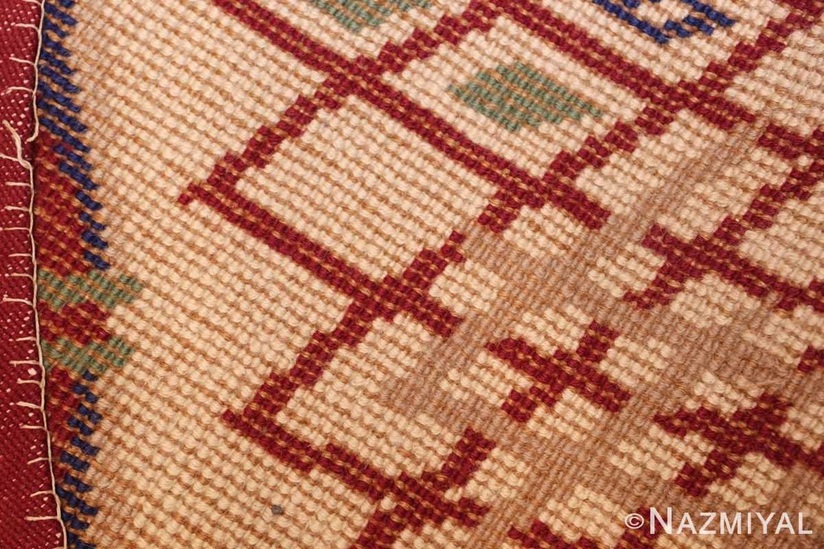 round antique art deco french rug by leleu 49382 weave Nazmiyal