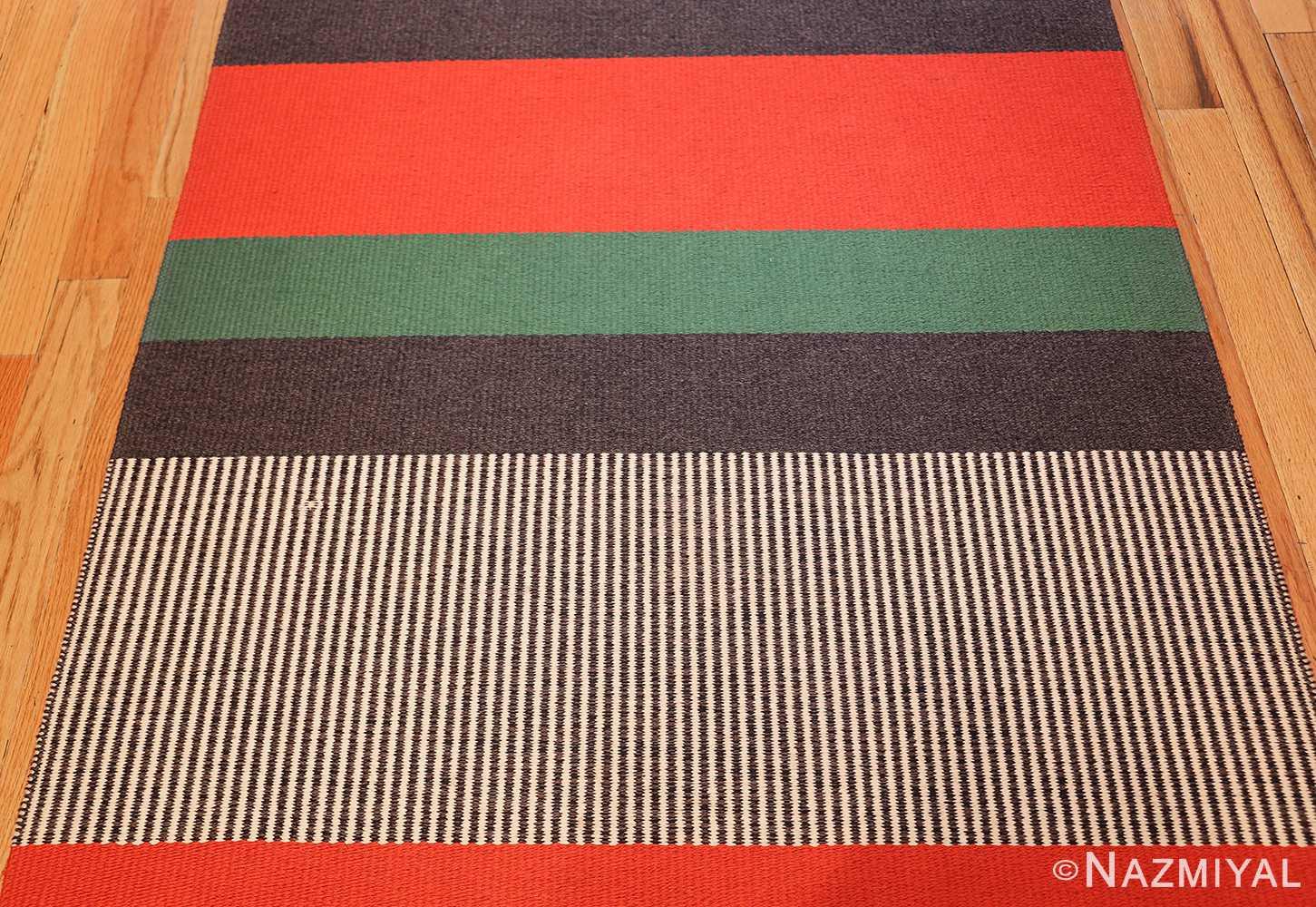 vintage scandinavian runner designed by gunilla lagerhem ullberg 49437 colors Nazmiyal