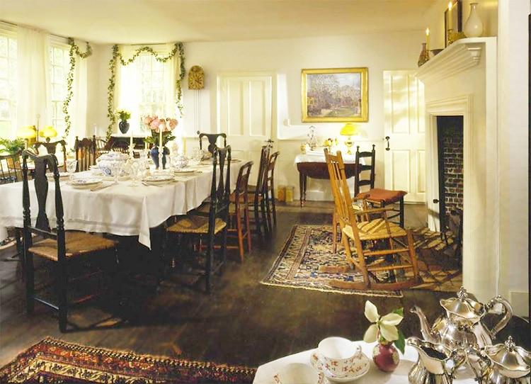 Bush Holley House Dinning Room Nazmiyal