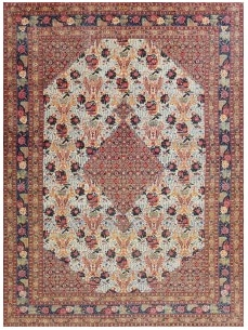 Fine Antique Persian Tabriz Rug by Nazmiyal