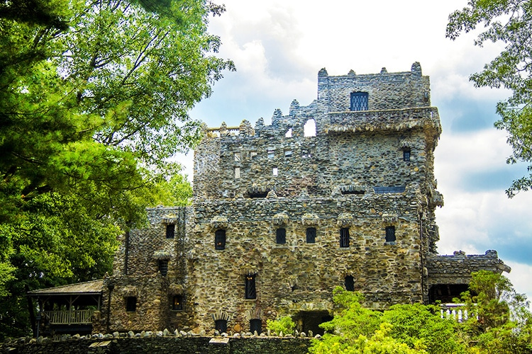 Historic Connecticut Castle by Nazmiyal