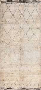 vintage geomterical moroccan rug 49457 Nazmiyal