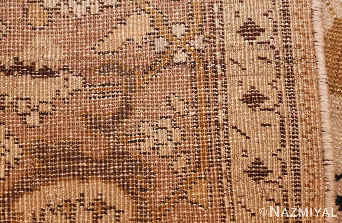 antique black karabagh caucasian rug 49314 top Nazmiyal