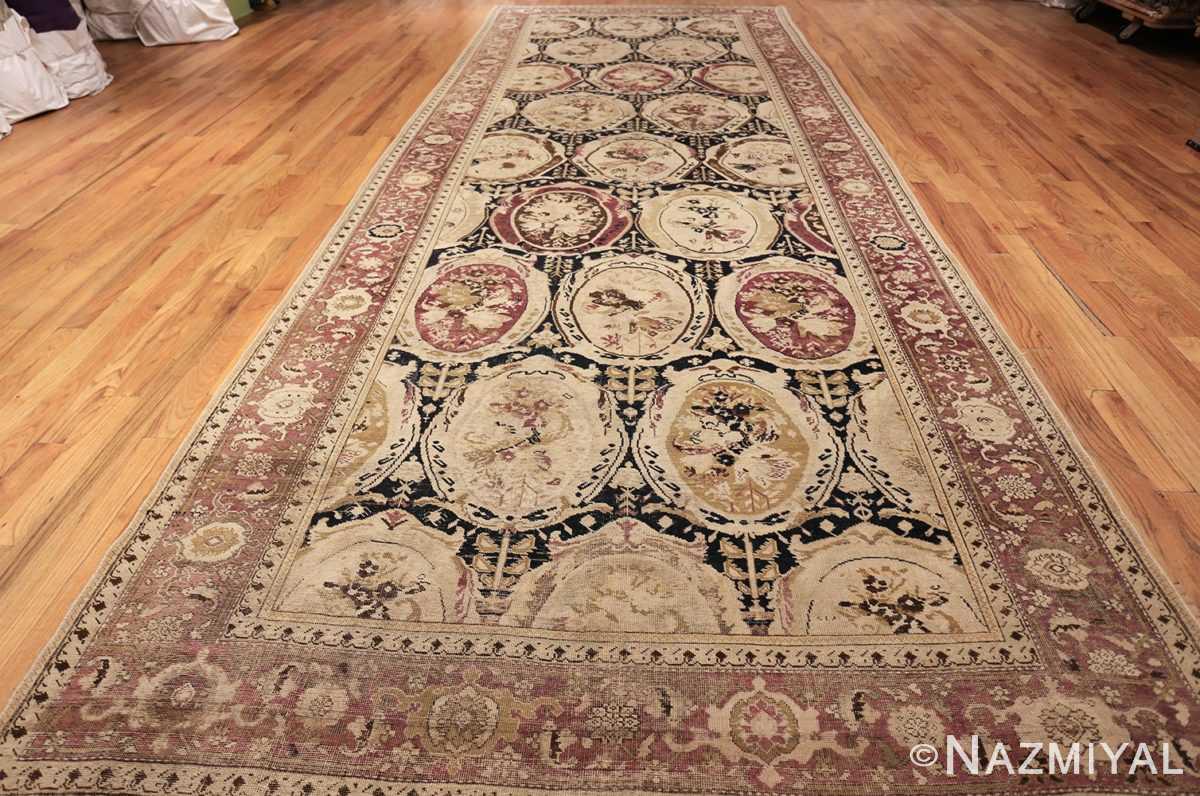 antique black karabagh caucasian rug 49314 whole Nazmiyal
