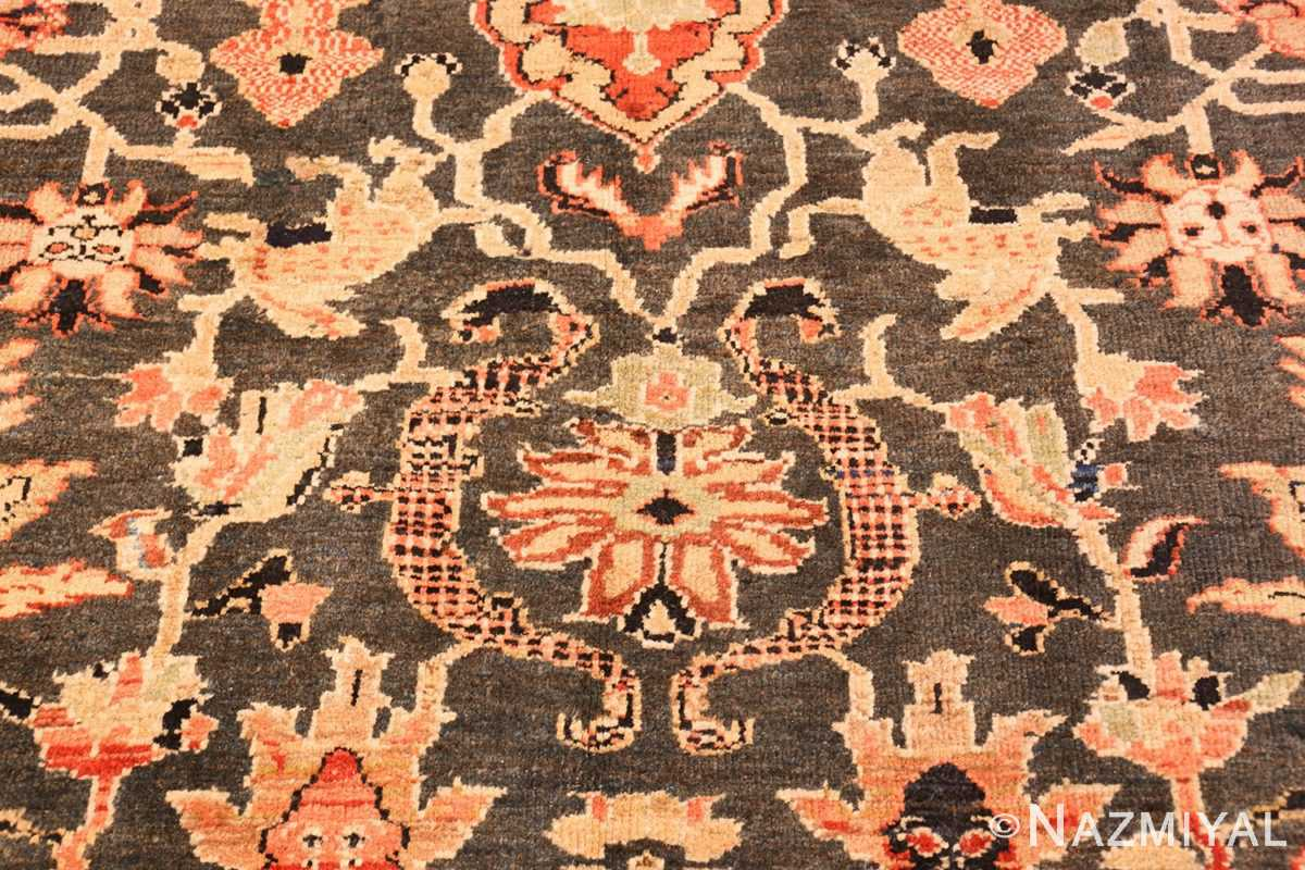 green background antique sultanabad persian rug 49389 set Nazmiyal