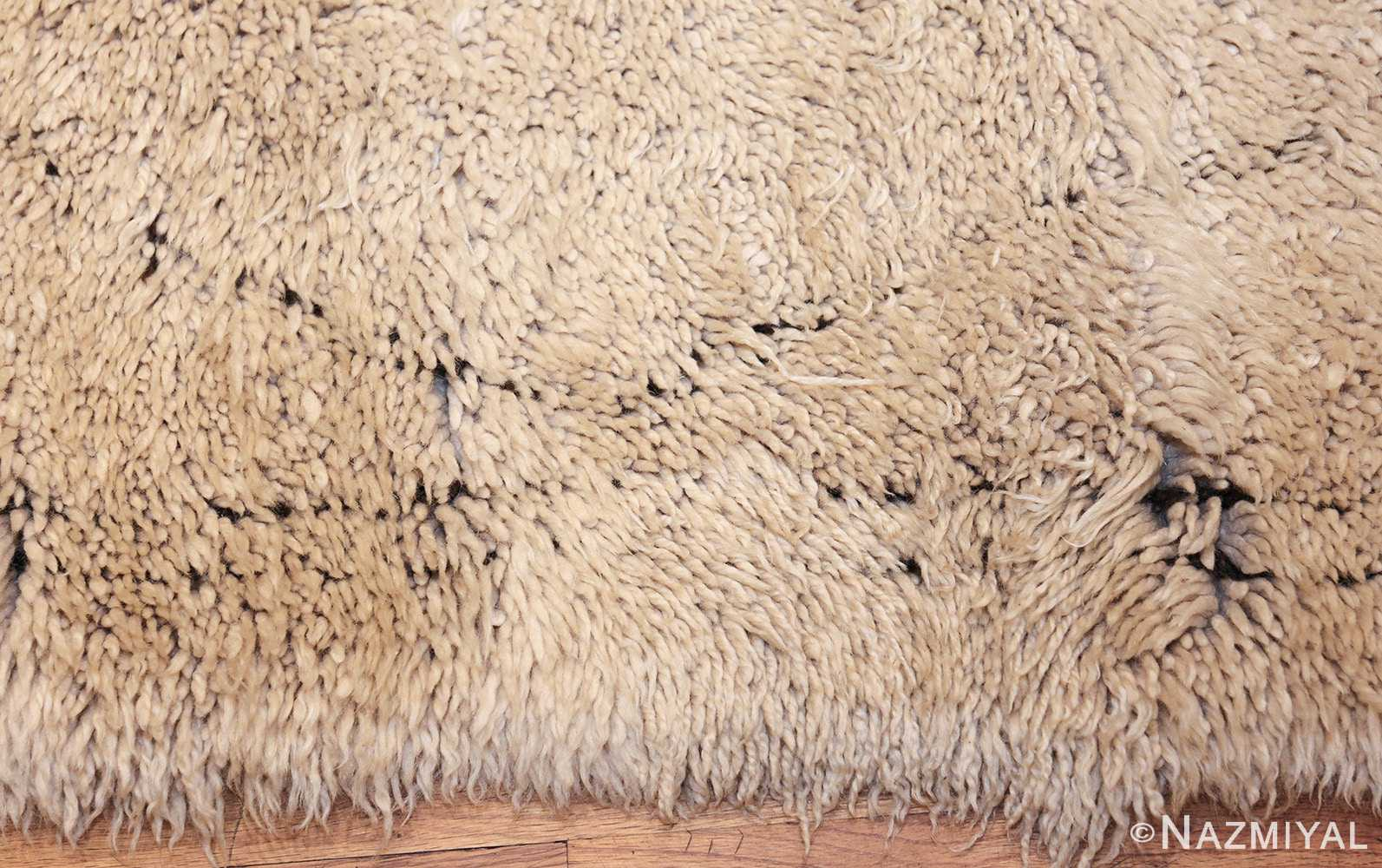 vintage geometric moroccan rug 49457 border Nazmiyal
