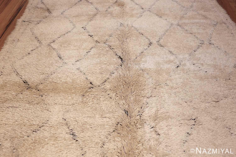 vintage geometric moroccan rug 49457 field Nazmiyal