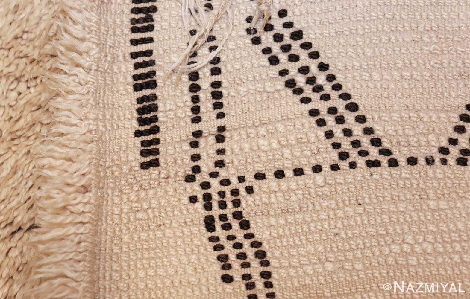 vintage geometric moroccan rug 49457 weave Nazmiyal